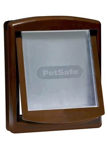 PETSAFE Petsafe Staywell 755 Ef Orjinal 2 Yönlü Kilitli Kapı Orta Boy Kahverengi Kahve